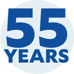 Icon for 55 Years